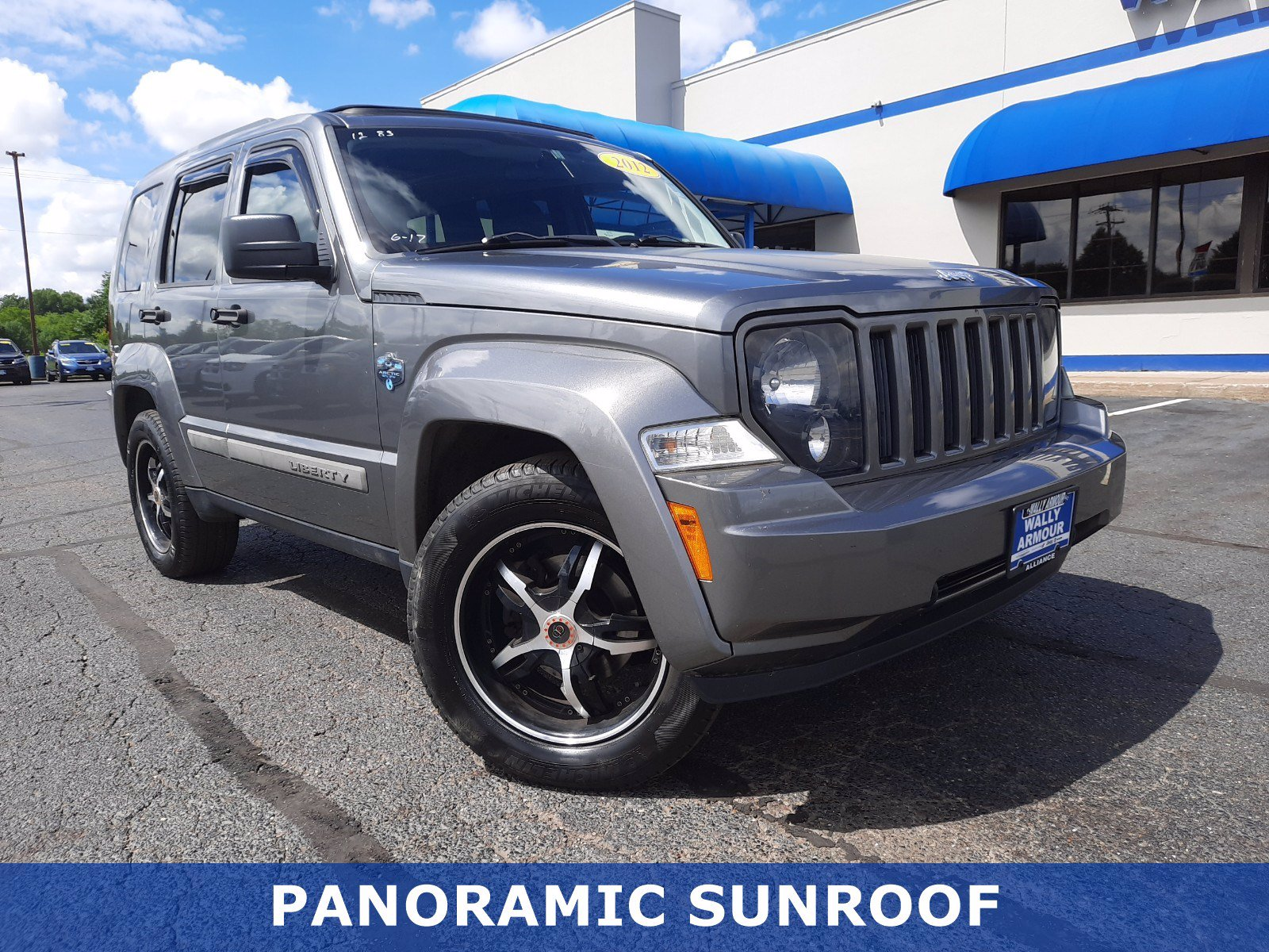 Pre-Owned 2012 Jeep Liberty Arctic