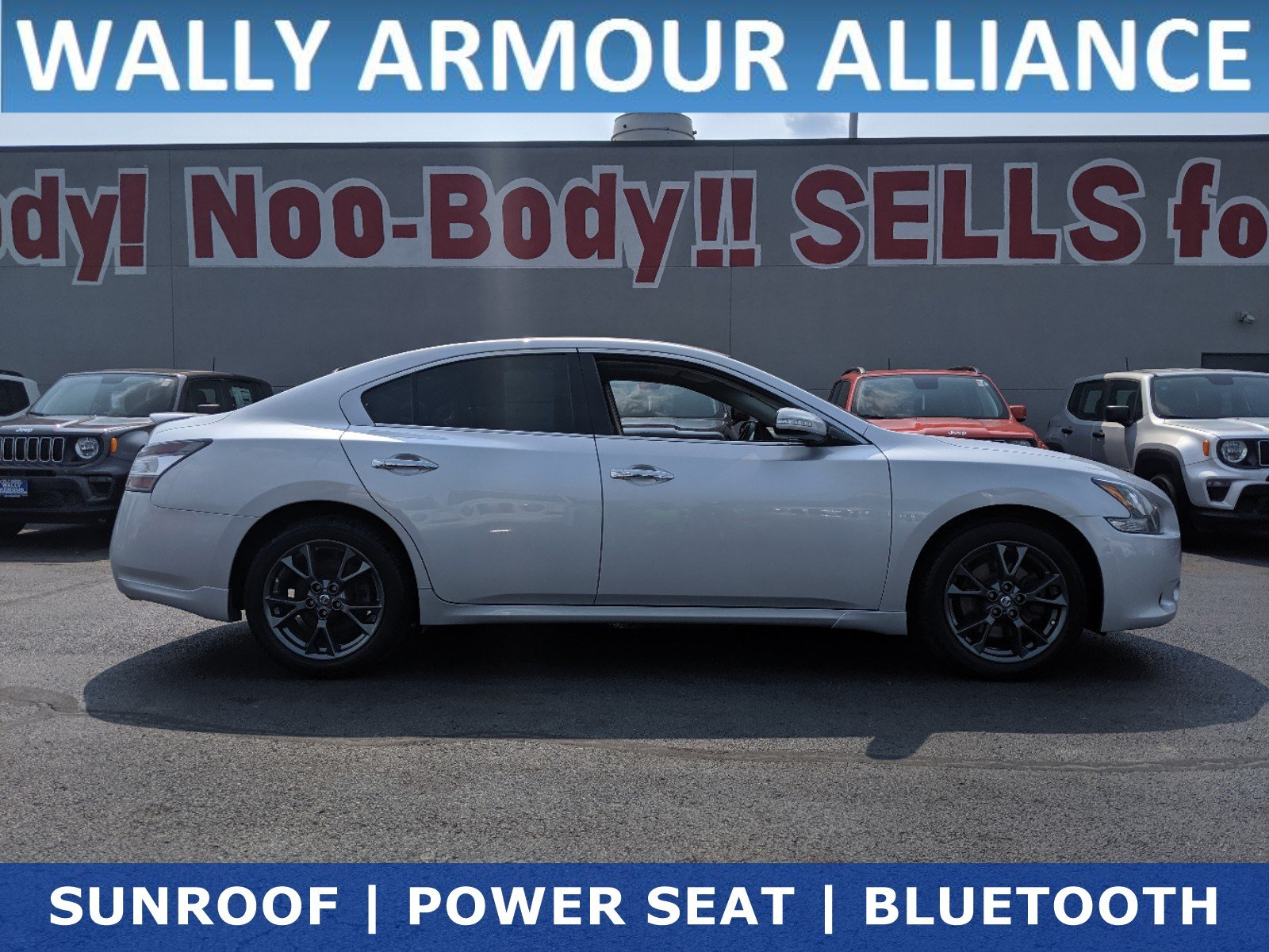 Pre-Owned 2012 Nissan Maxima 3.5 S with Limited Edition Pkg