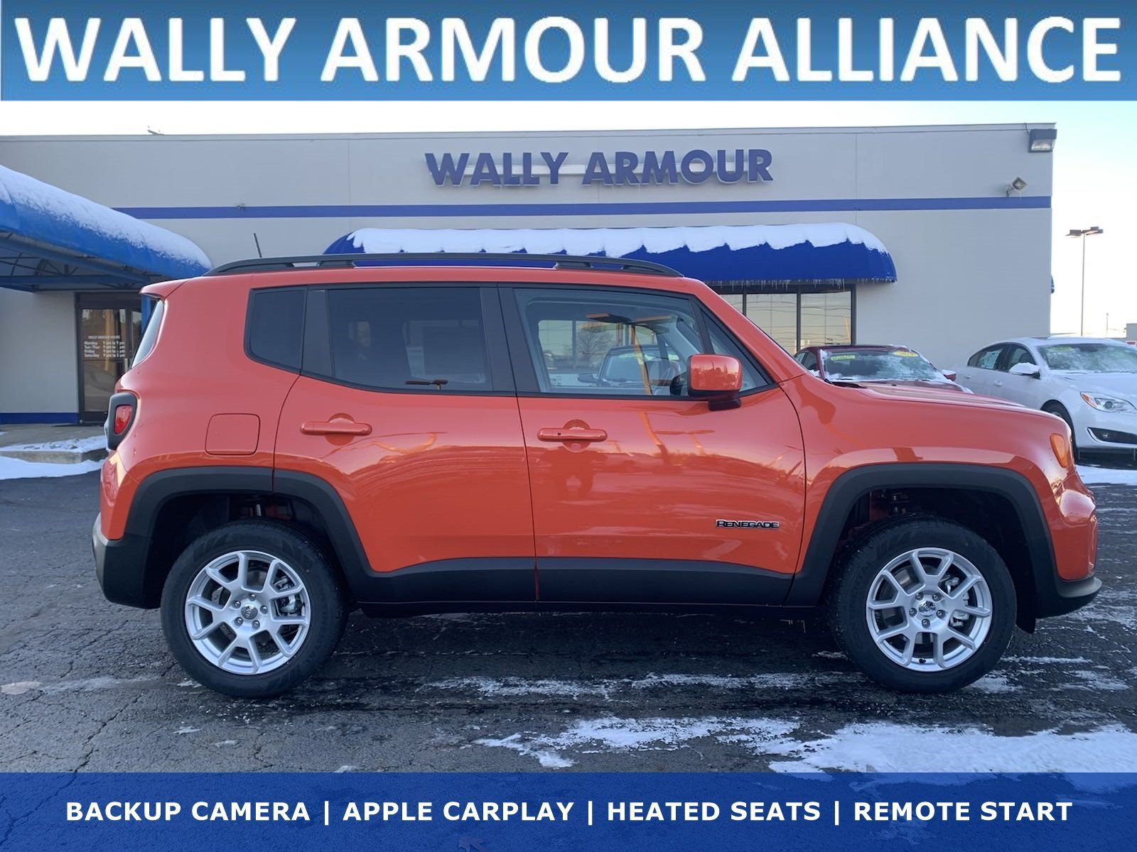 NEW 2020 JEEP RENEGADE LATITUDE 4X4