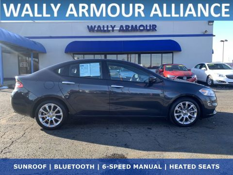 PRE-OWNED 2013 DODGE DART LIMITED WITH NAVIGATION