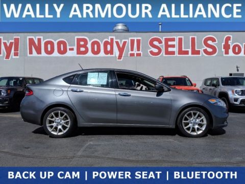 PRE-OWNED 2013 DODGE DART LIMITED FWD 4DR CAR