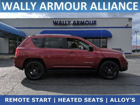 PRE-OWNED 2013 JEEP COMPASS LATITUDE FWD SPORT UTILITY