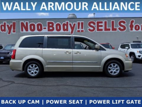 PRE-OWNED 2011 CHRYSLER TOWN & COUNTRY TOURING FWD MINI-VAN, PASSENGER